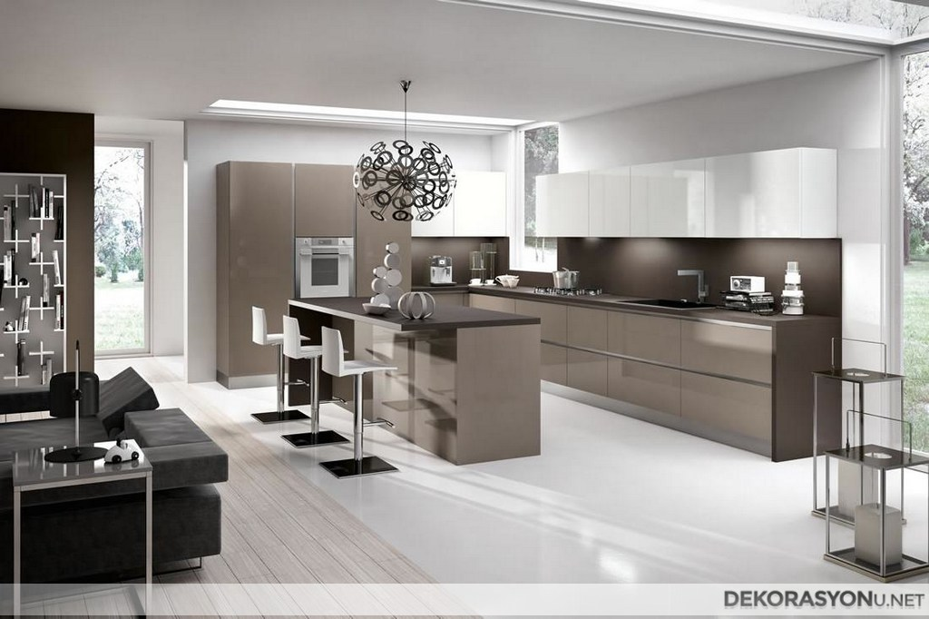 modern kitchen designs photos modern mutfak dolabı ev dekorasyonu 7698