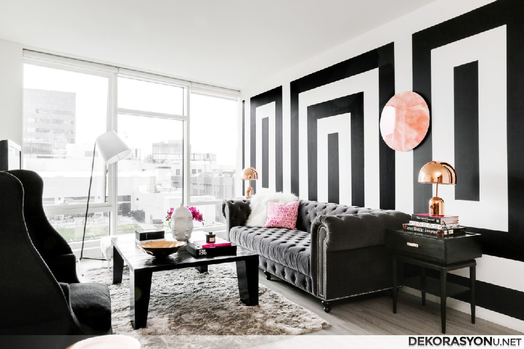black and white accessories for living room estetik siyah beyaz duvar kağıdı ev dekorasyonu 27894